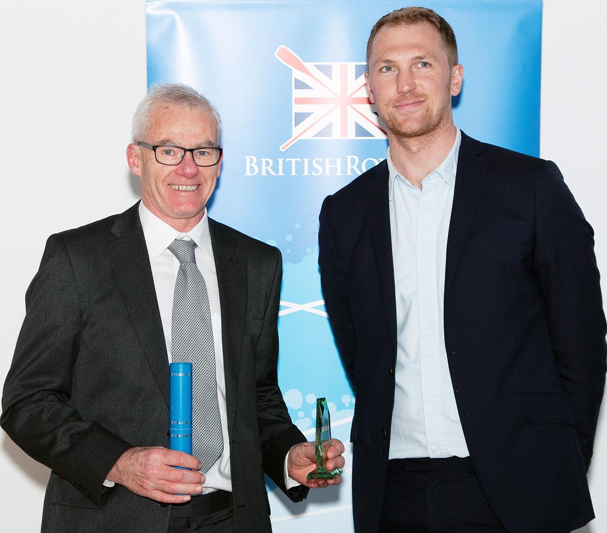Lifetime Achievement Award for Helford's Dave Merrick