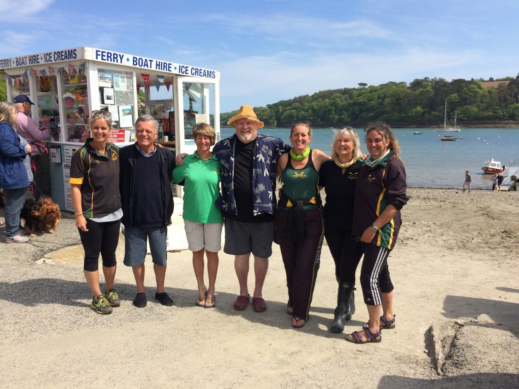 Helford Rowers' Fifteen Minutes of Fame