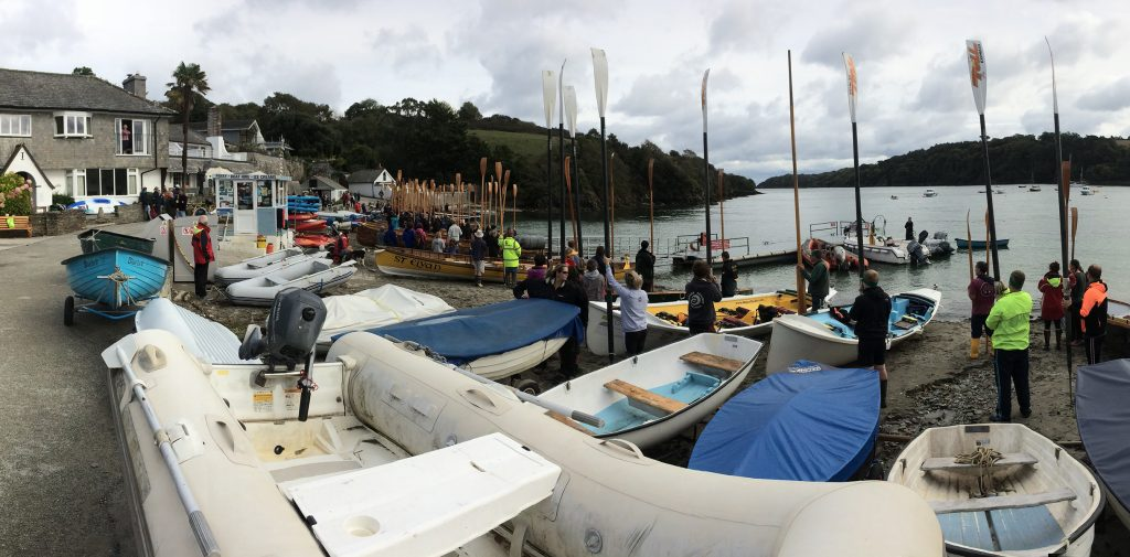 Great Turnout for Helford's Head of the River Race