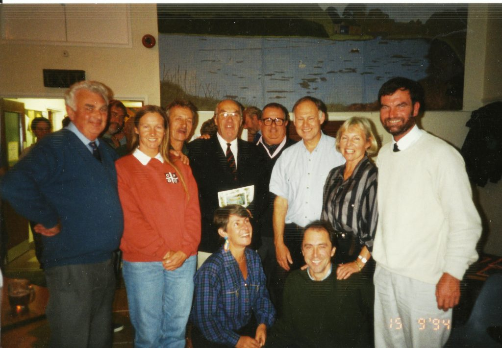 Helford celebrates 25th Anniversary of Gig Club with An Gof race